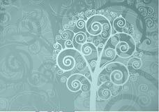 zawijasa drzewo Zdjęcia Royalty Free
