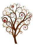 Zawijasa drzewo Obrazy Royalty Free