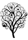 Zawijasa drzewo Obraz Royalty Free