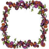 Zawijasa liścia winograd Obrazy Royalty Free