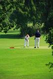 zawodnicy golfowe Obraz Stock