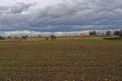 Zawodnik bez szans fort ściana Fotografia Royalty Free
