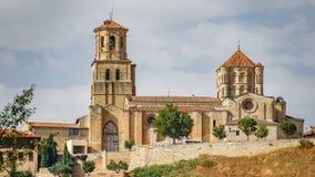 Zawodnik bez szans Tordesillas kościół Obrazy Royalty Free