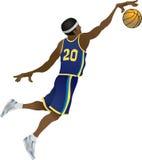 zawodnik koszykówki Obraz Royalty Free