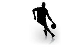 zawodnik koszykówki Fotografia Royalty Free