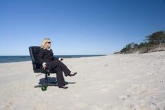 zawodowiec na plaży Zdjęcia Stock