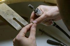 Zawodu jubiler Rzemiosła jewellery robić Zdjęcie Stock
