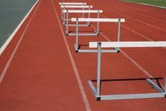 Zawody Atletyczni bieg Zdjęcia Royalty Free