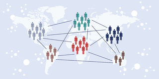 Zawody międzynarodowi kontaktowy horyzontalny ilustracji