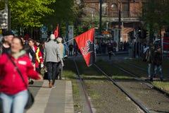 Zawody międzynarodowi Workers&-x27; Dzień 1 2016 Maj, Berlin, Niemcy Obrazy Royalty Free