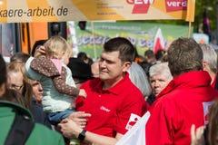 Zawody międzynarodowi Workers&-x27; Dzień 1 2016 Maj, Berlin, Niemcy Zdjęcia Royalty Free