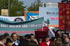 Zawody międzynarodowi Workers&-x27; Dzień 1 2016 Maj, Berlin, Niemcy Zdjęcia Stock