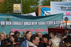 Zawody międzynarodowi Workers&-x27; Dzień 1 2016 Maj, Berlin, Niemcy Zdjęcie Stock