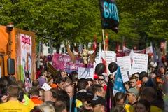 Zawody międzynarodowi Workers&-x27; Dzień 1 2016 Maj, Berlin, Niemcy Obrazy Stock