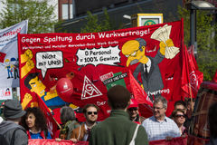 Zawody międzynarodowi Workers&-x27; Dzień 1 2016 Maj, Berlin, Niemcy Obraz Stock