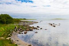 Zayatsky-Insel Stockbild