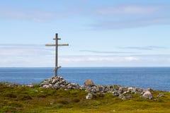Zayatsky-Insel, Solovetsky-Archipel Stockbild