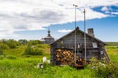 Zayatsky-Insel, Solovetsky-Archipel Stockfotos