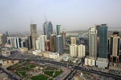 zayed的回到回教族长街道 免版税图库摄影