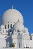 zayed белизна шейха мечети Стоковое Изображение RF