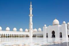 zayed шейх мечети стоковое фото