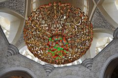 zayed шейх мечети Стоковое фото RF