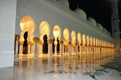 zayed шейх мечети Стоковые Фотографии RF