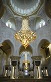 zayed шейх мечети Abu Dhabi Стоковая Фотография