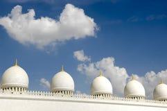 zayed шейх мечети dhabi al abu nahyan Стоковое Изображение