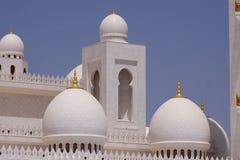 Μουσουλμανικό τέμενος Zayed σουλτάνων Στοκ εικόνα με δικαίωμα ελεύθερης χρήσης