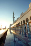 zayed Abu Dhabi moskésheikh Arkivbilder