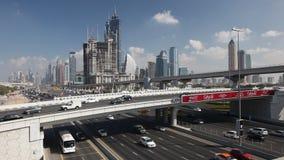zayed drogowy Dubai sheikh zbiory wideo