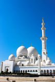 Zayed Grand Mosque Royalty Free Stock Image