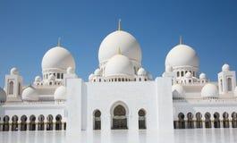 zayed meczetowy sheikh Obrazy Stock