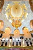 zayed meczetowy sheikh zdjęcia royalty free