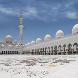 zayed moqsue sheikh Fotografia Royalty Free