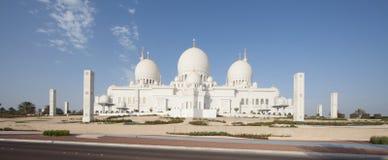 Zayed-Moschee in Abu Dhabi, Vereinigte Arabische Emirate Stockfotografie