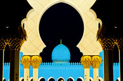 zayed moskéshaikh Arkivbilder