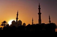 zayed moskéshaikh Royaltyfri Foto