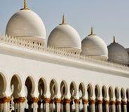 zayed moskésheikh Royaltyfri Fotografi