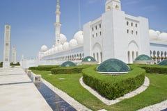 zayed Mosque回教族长 库存照片