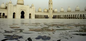 zayed shaikh мечети Стоковые Фотографии RF