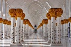 Zayed shejk Abud Dabi UAE Arkivfoto