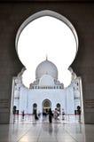 zayed uroczysty meczetowy sheikh zdjęcie royalty free