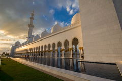 zayed uroczysty meczetowy sheikh Zdjęcia Stock