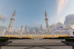 zayed uroczysty meczetowy sheikh Obrazy Royalty Free