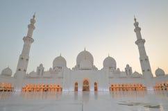 zayed uroczysty meczetowy sheikh Obraz Royalty Free