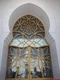 Zayed Zayed Mosque Abu Dhabi Royaltyfri Bild