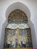 Zayed Zayed Mosque Abu Dhabi Royalty Free Stock Image