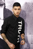 Zayn Malik. At the Los Angeles premiere of 'Straight Outta Compton' held at the Microsoft Theater in Los Angeles, USA on August 10, 2015 Stock Image